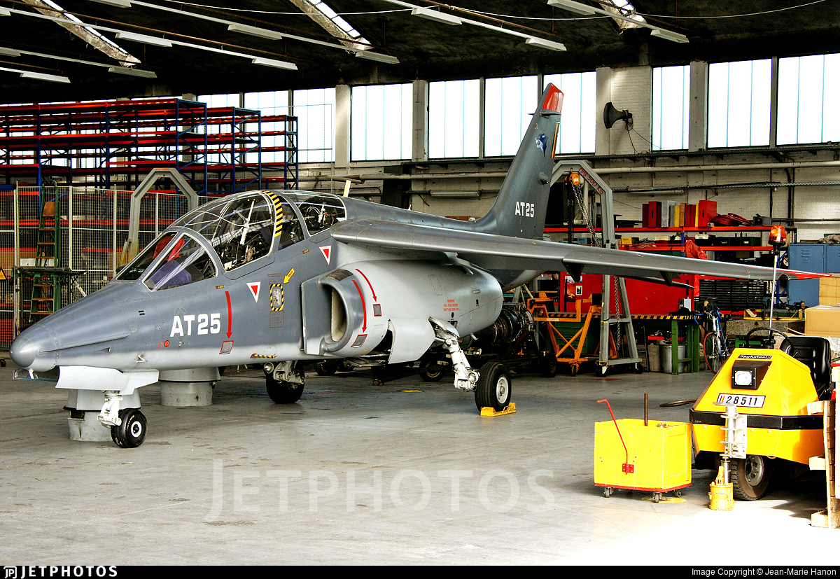 AT-25 - Dassault-Breguet-Dornier Alpha Jet 1B+ - Belgium - Air Force