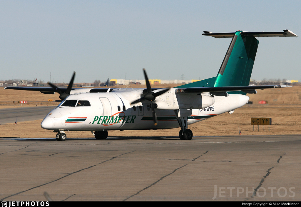 C-GWPS - Bombardier Dash 8-102 - Perimeter Airlines