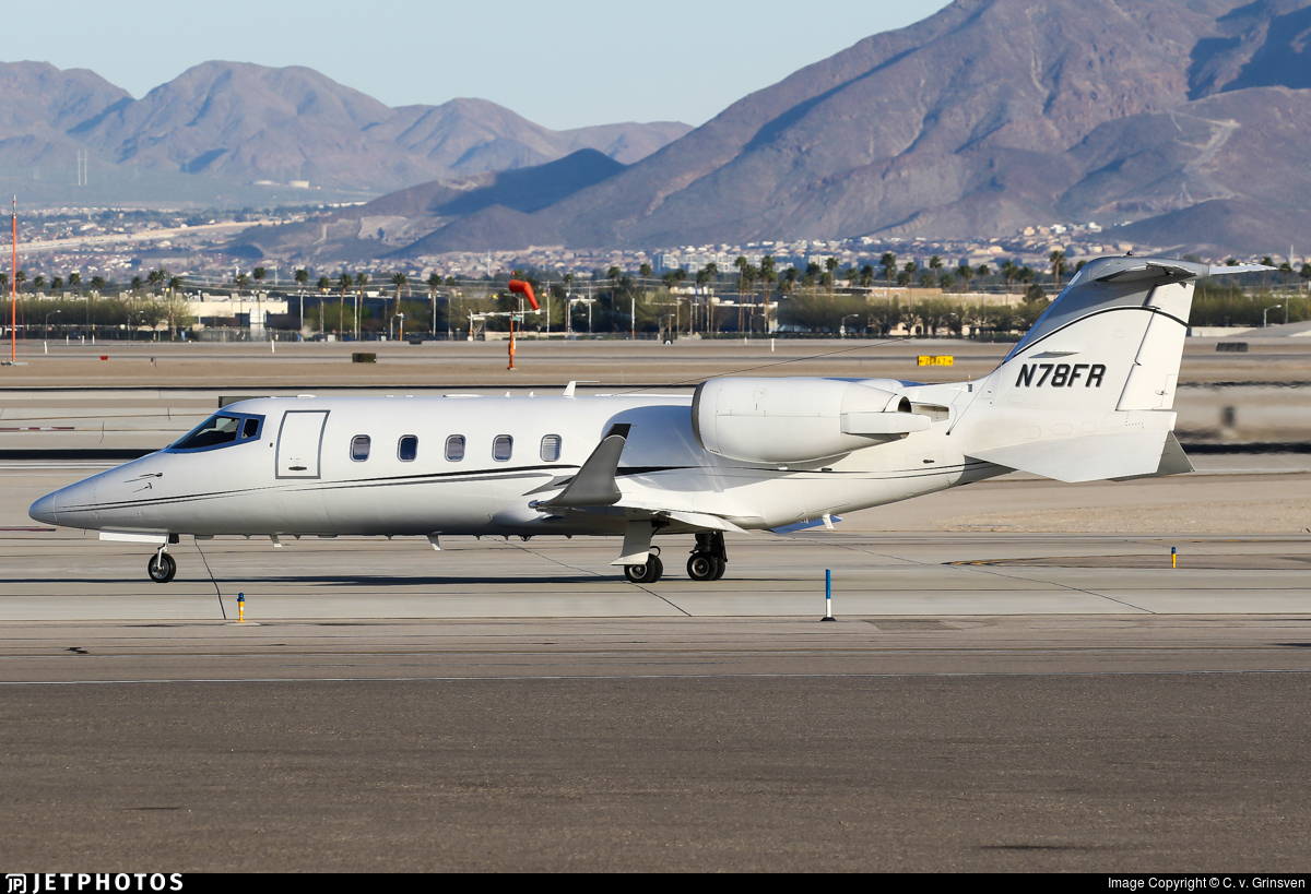 N78FR - Bombardier Learjet 60 - Private