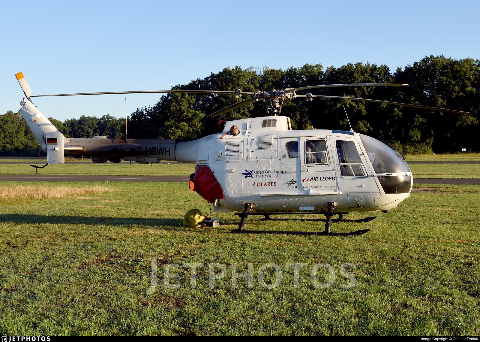 D-HBWH - MBB Bo105CBS-5 - Air Lloyd