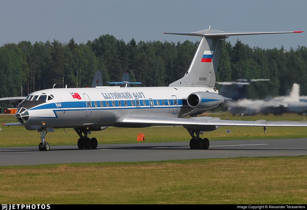 RF-66003 - Tupolev Tu-134AK - Russia - Navy