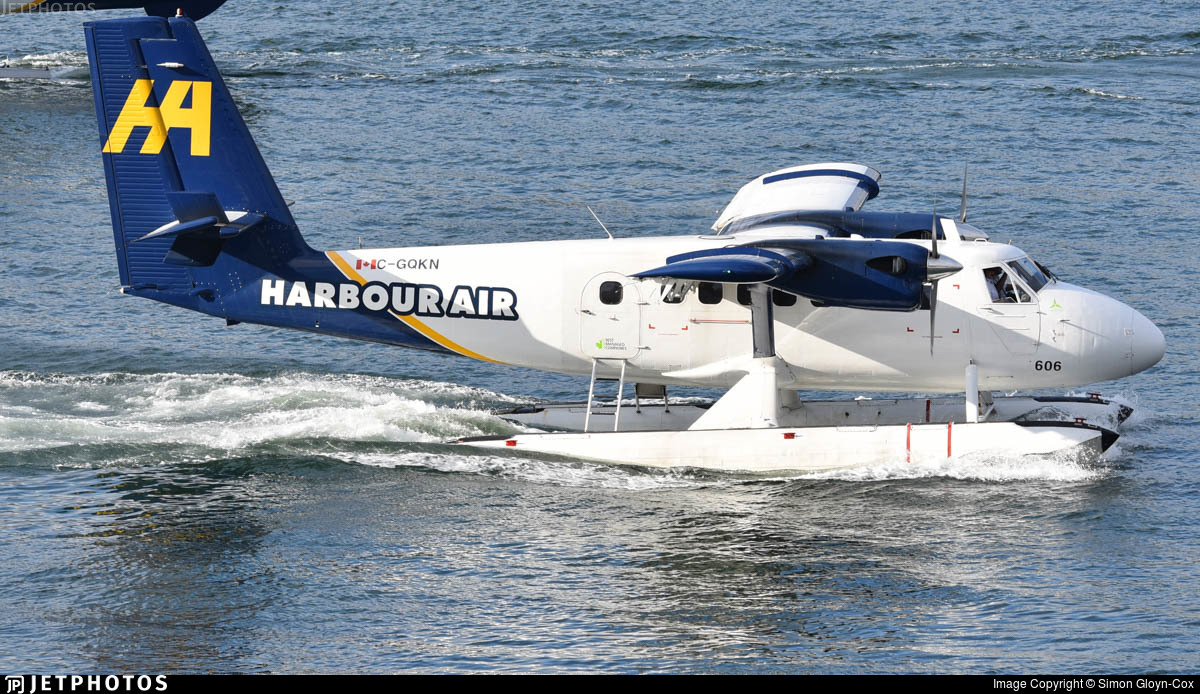C-GQKN - De Havilland Canada DHC-6-100 Twin Otter - Harbour Air