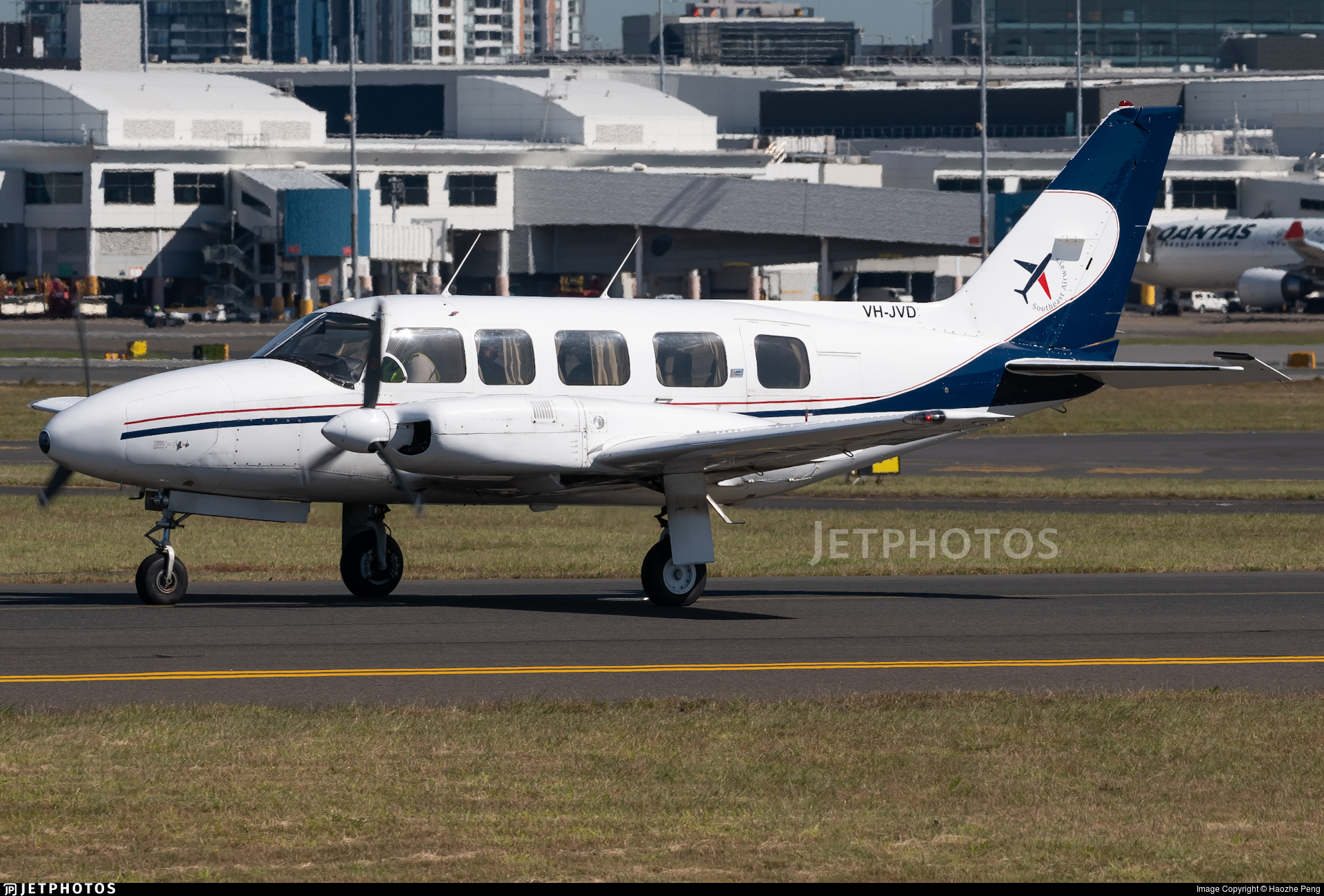 VH-JVD - Piper PA-31-350 Chieftain - Southeast Airways