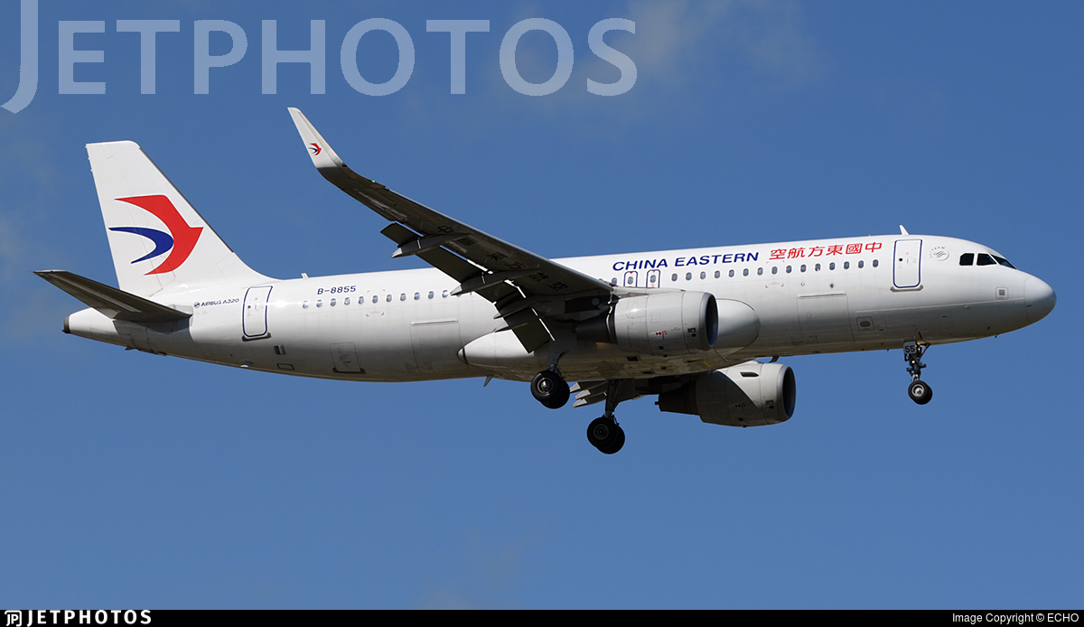 B-8855 - Airbus A320-214 - China Eastern Airlines