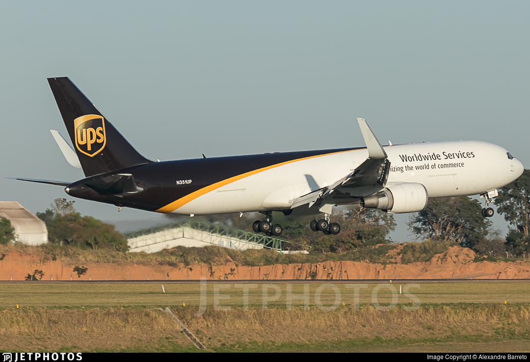 N351UP - Boeing 767-34AF(ER) - United Parcel Service (UPS)