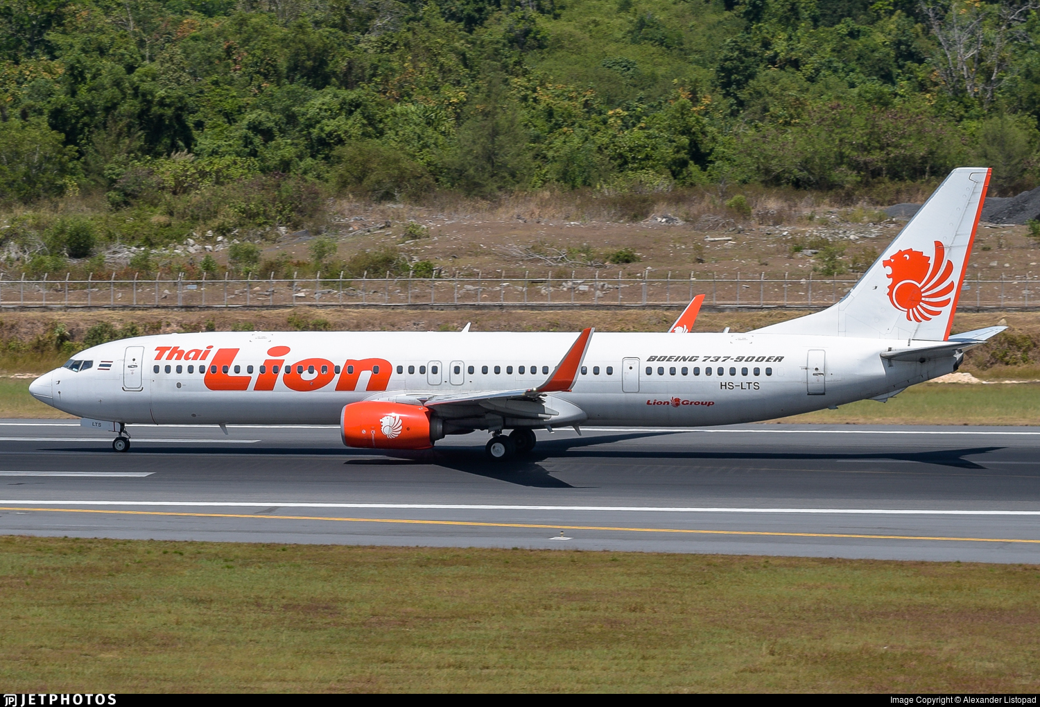 HS-LTS - Boeing 737-9GPER - Thai Lion Air