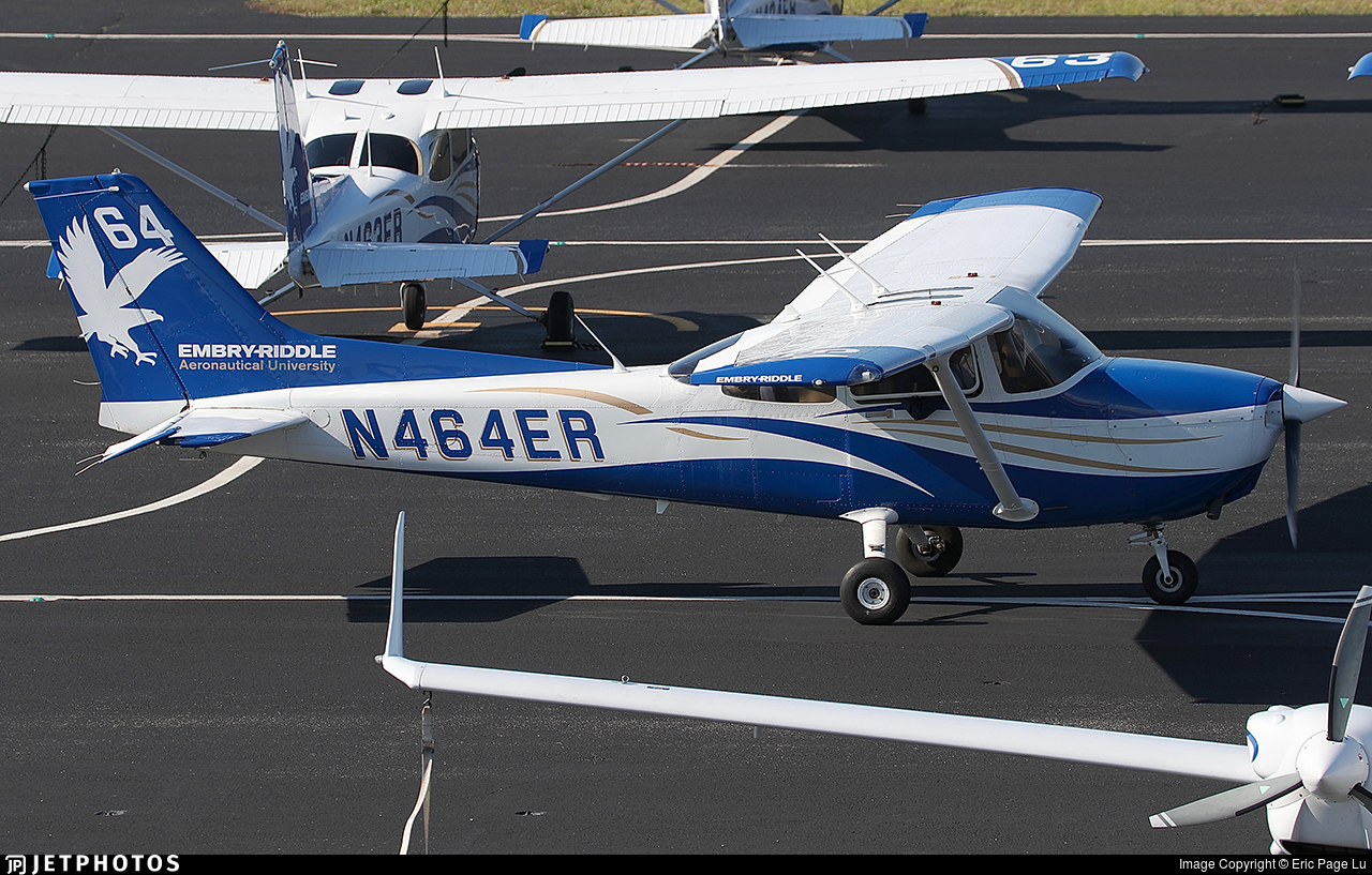 N464ER - Cessna 172S Skyhawk SP - Embry-Riddle Aeronautical University (ERAU)