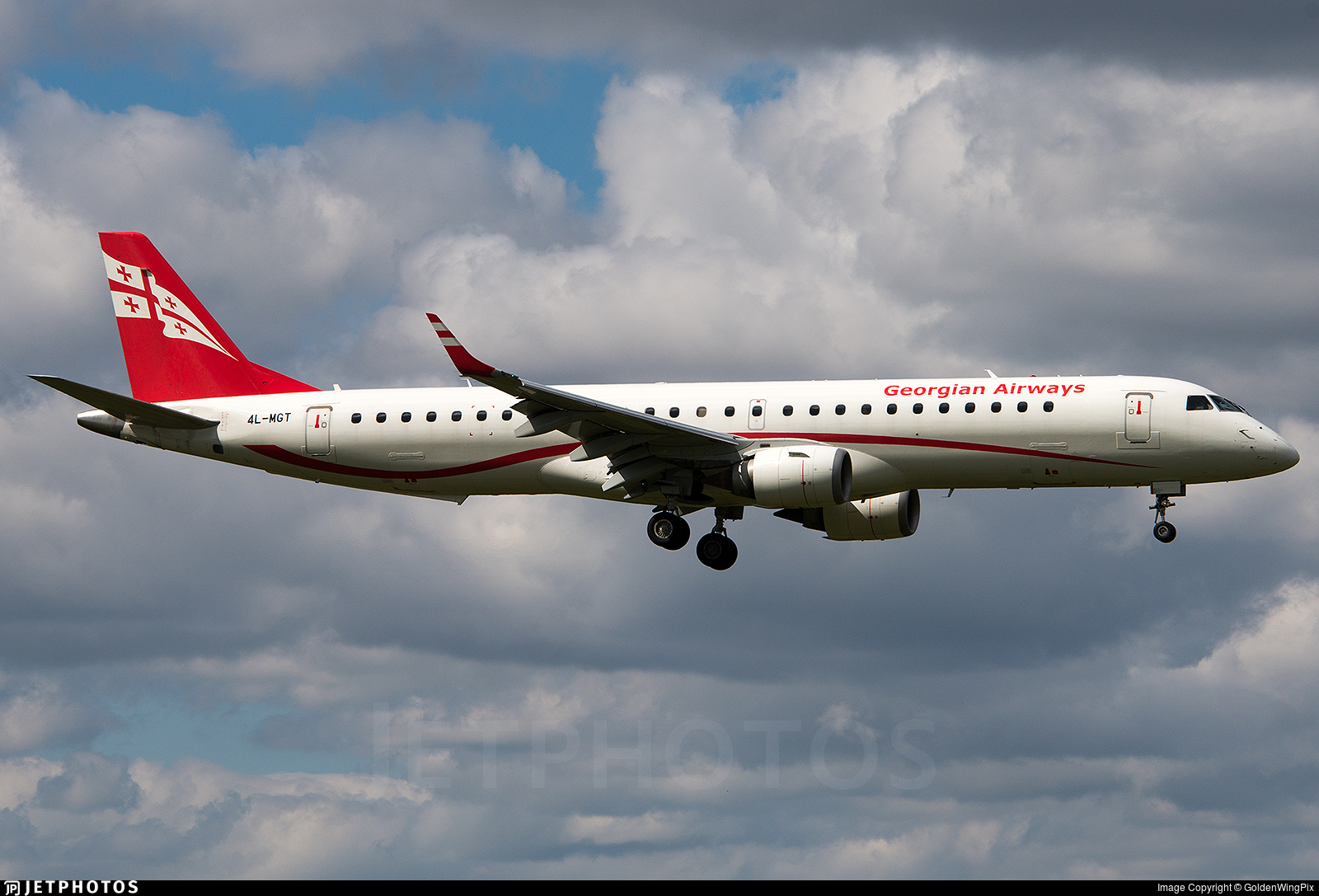 4L-MGT - Embraer 190-200LR - Georgian Airways