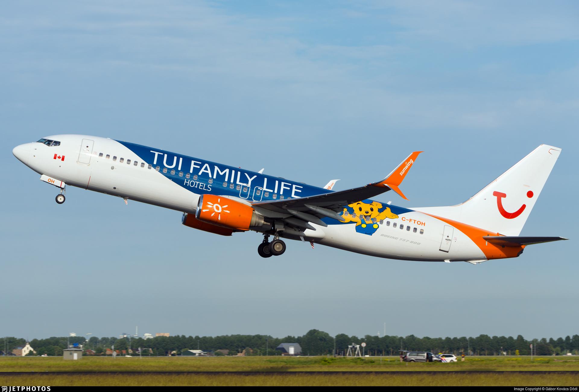 C-FTOH - Boeing 737-8HX - TUI (Sunwing Airlines)