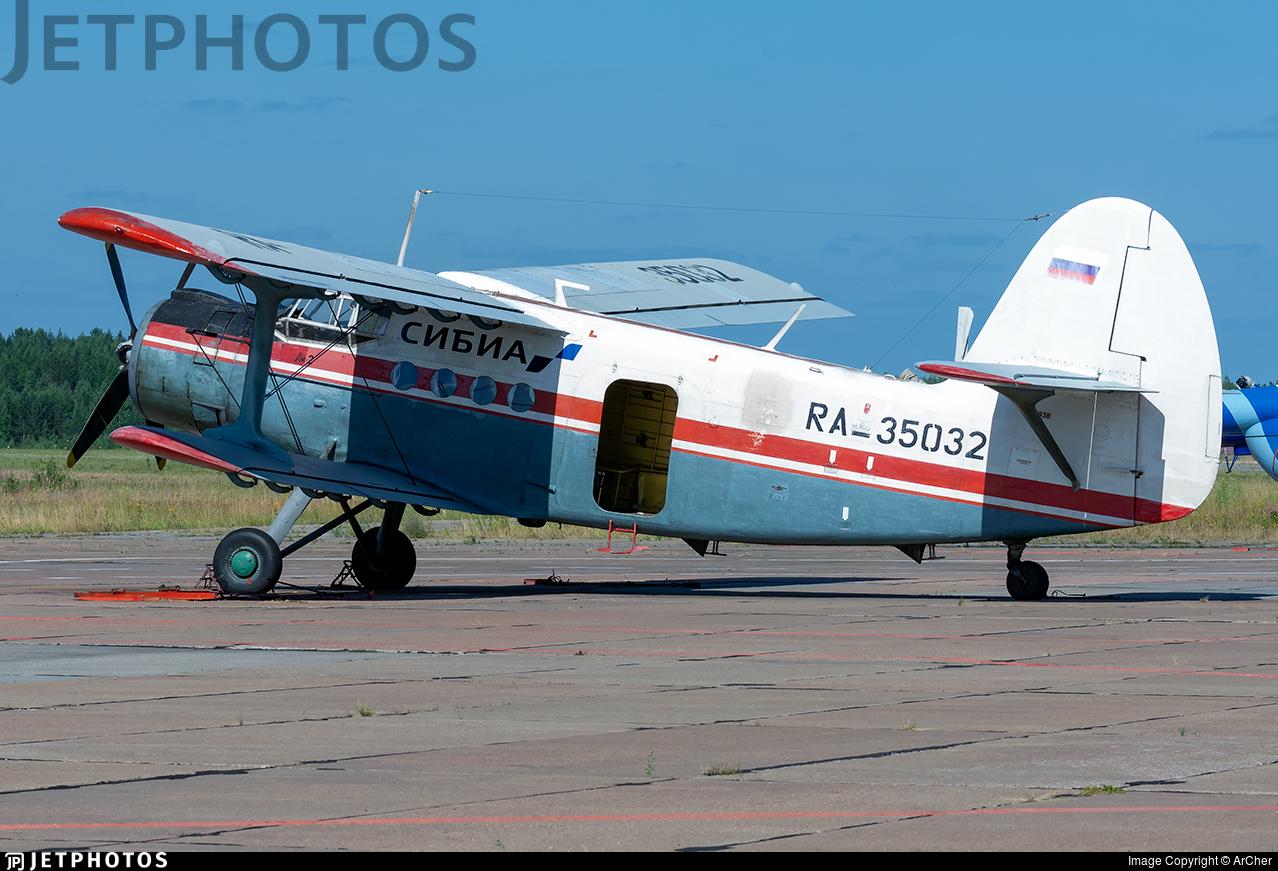 RA-35032 - Antonov An-2 - Sibia