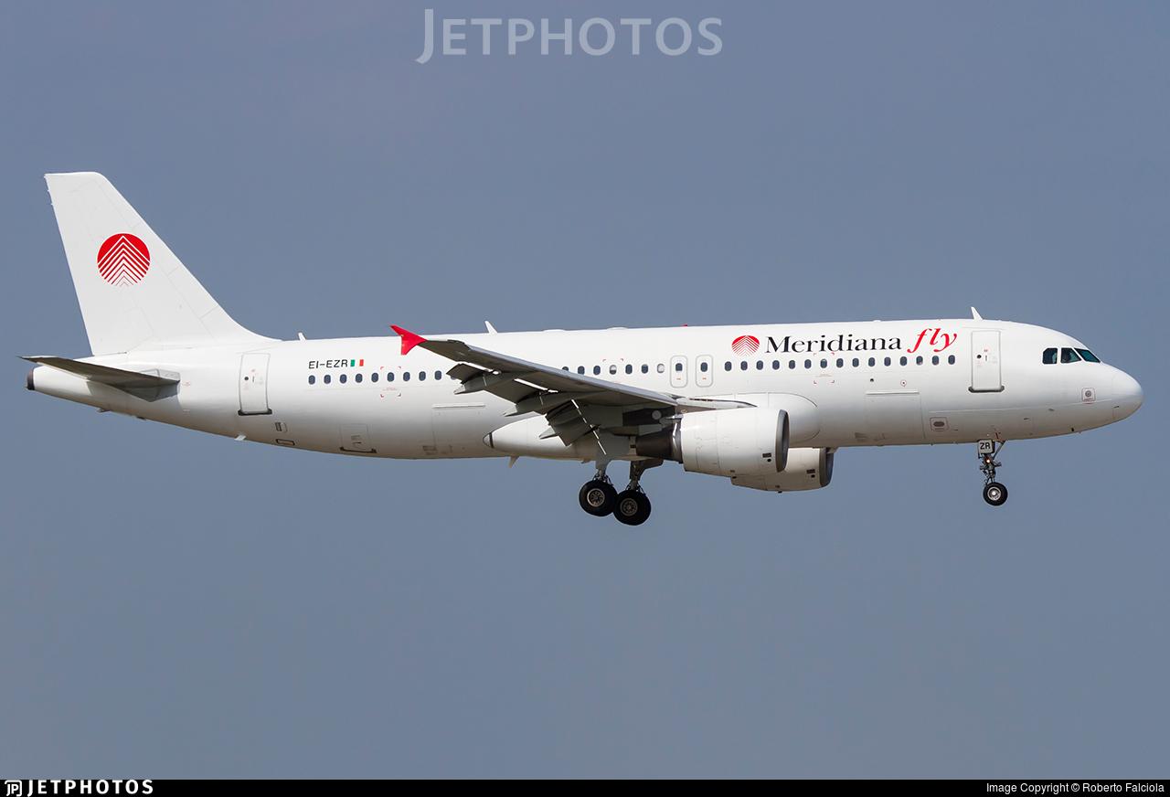 EI-EZR - Airbus A320-214 - Meridiana fly