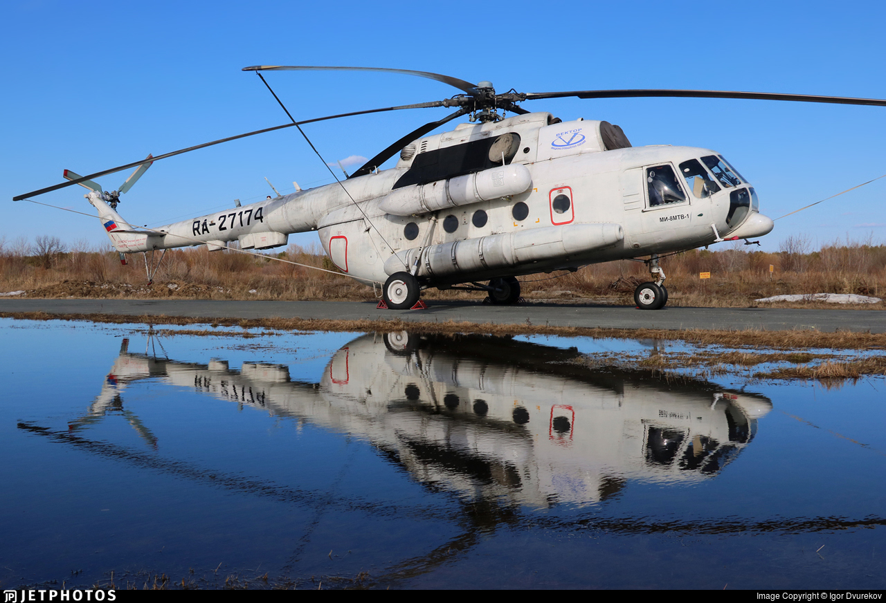 RA-27174 - Mil Mi-8MTV-1 Hip - APK Vector