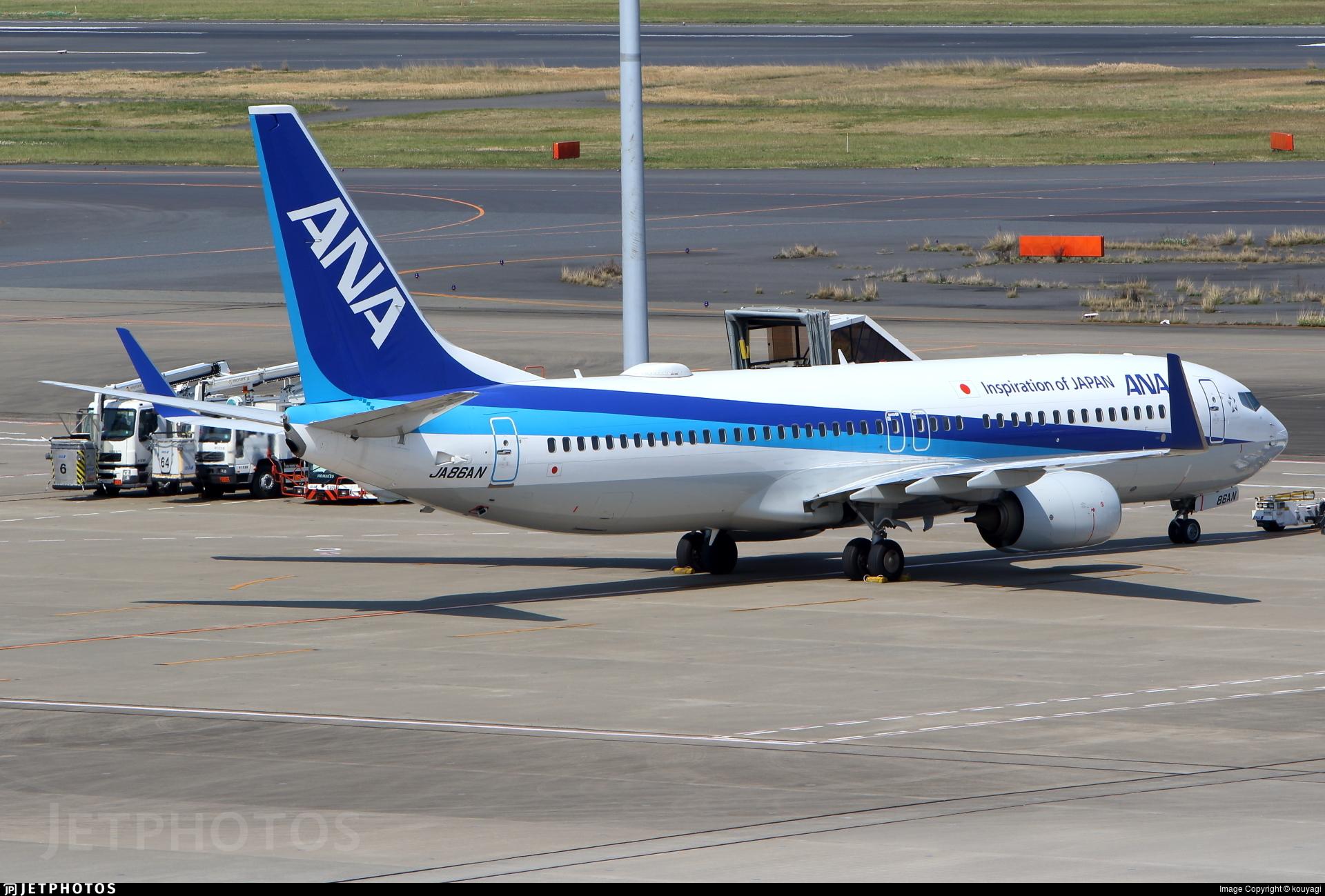 JA86AN - Boeing 737-881 - All Nippon Airways (ANA)