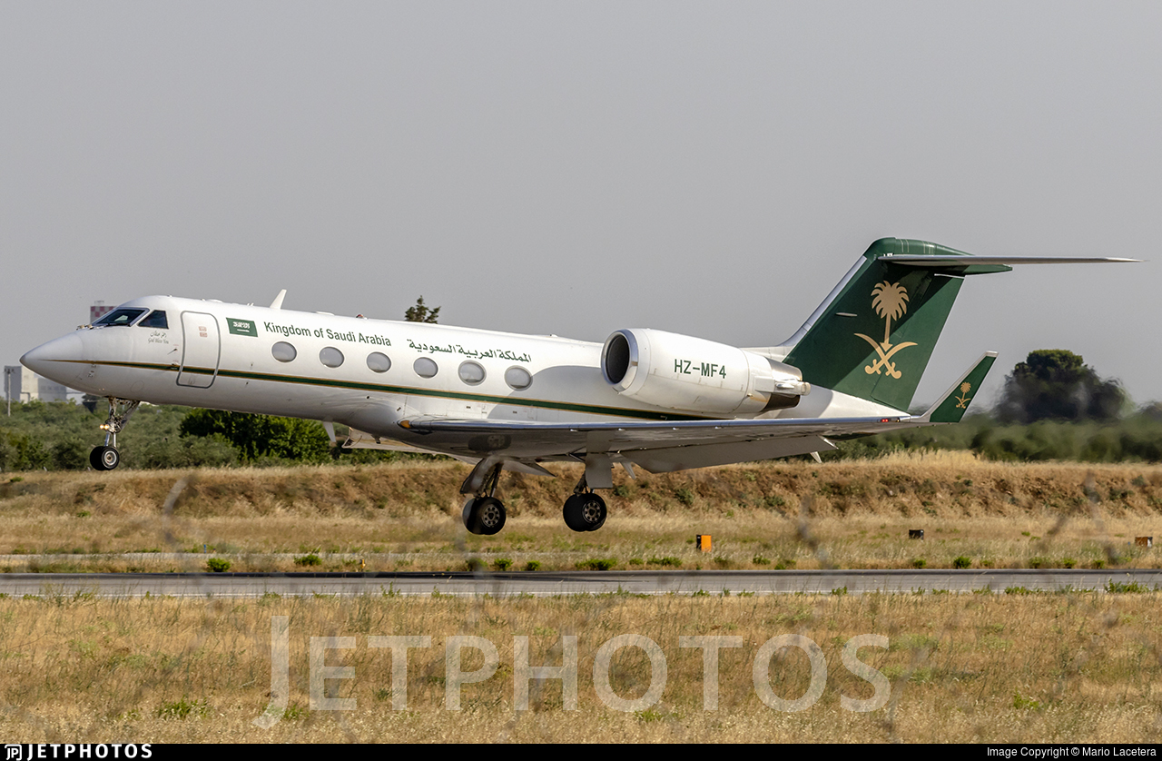 HZ-MF4 - Gulfstream G-IV(SP) - Saudi Arabia - Ministry of Finance