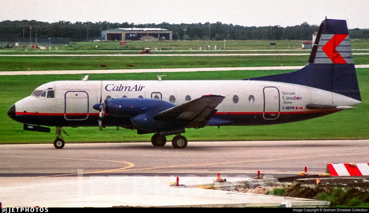 C-GEPB - Hawker Siddeley HS-748 Series 2A - Calm Air