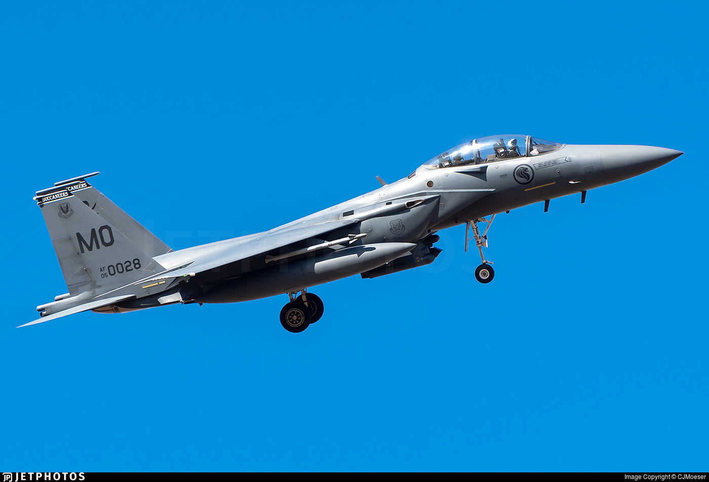 05-0028 - Boeing F-15SG Strike Eagle - Singapore - Air Force