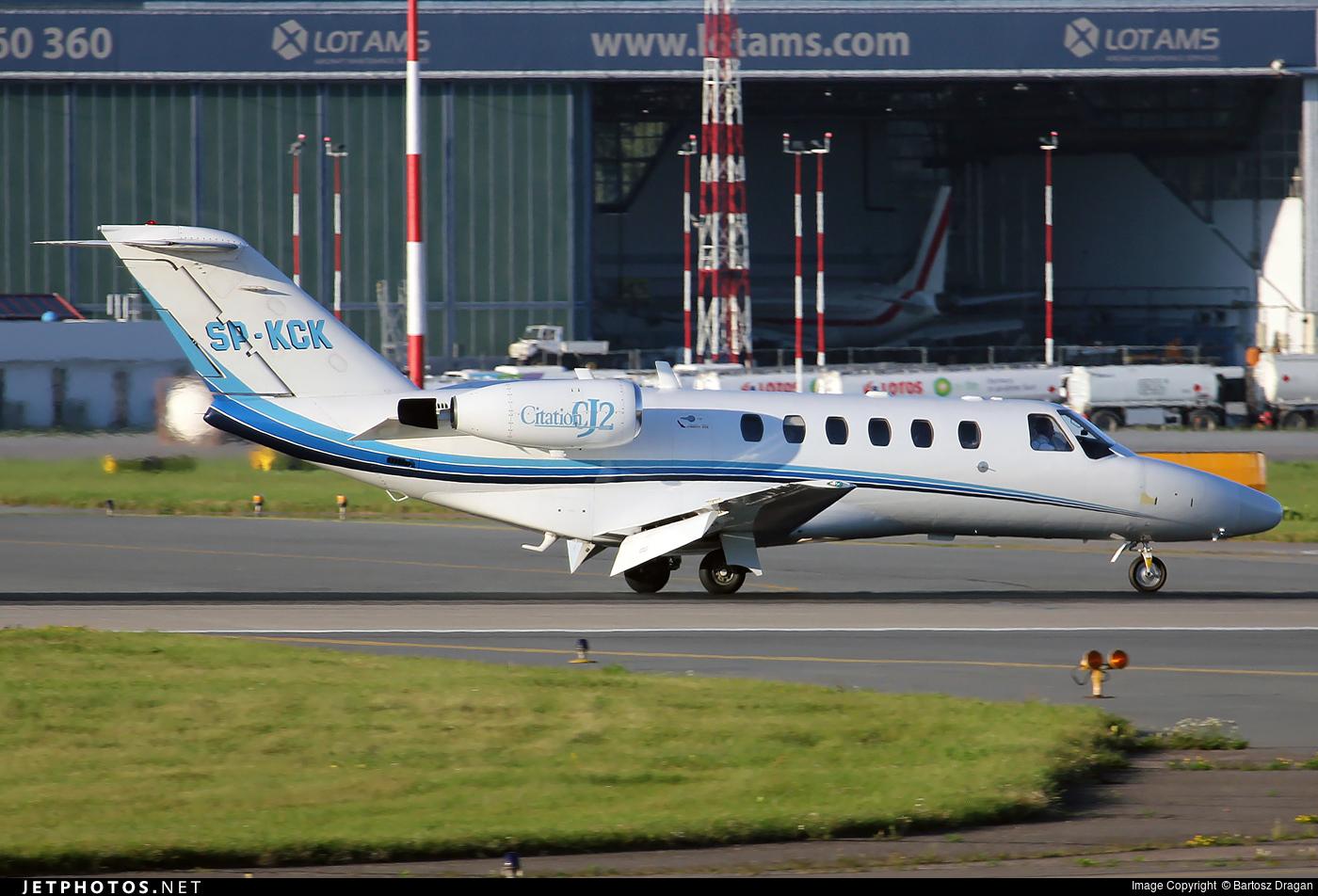 SP-KCK - Cessna 525A CitationJet 2 - Jet Story