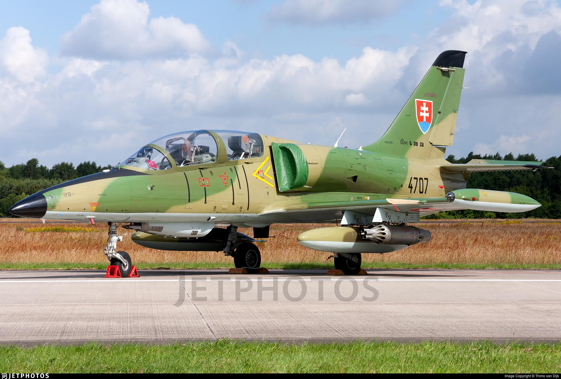 4707 - Aero L-39ZA Albatros - Slovakia - Air Force