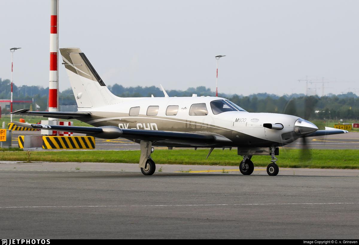 OK-CHD - Piper PA-46-M600 - Private