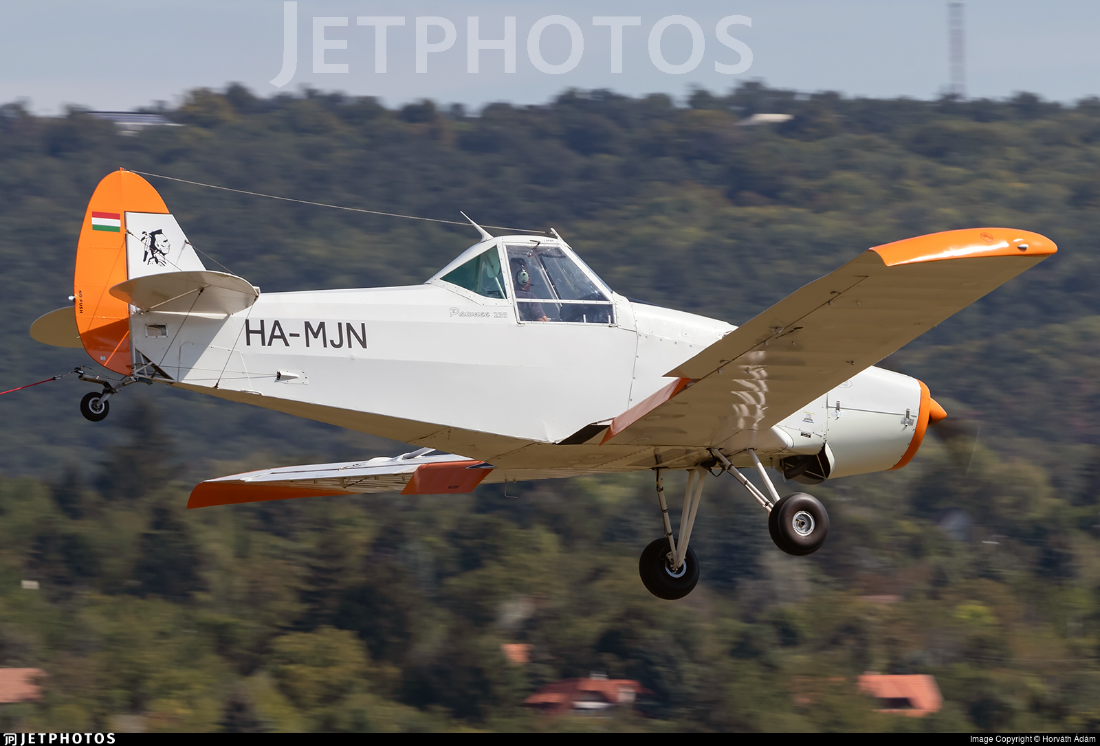 HA-MJN - Piper PA-25-235 Pawnee - Private