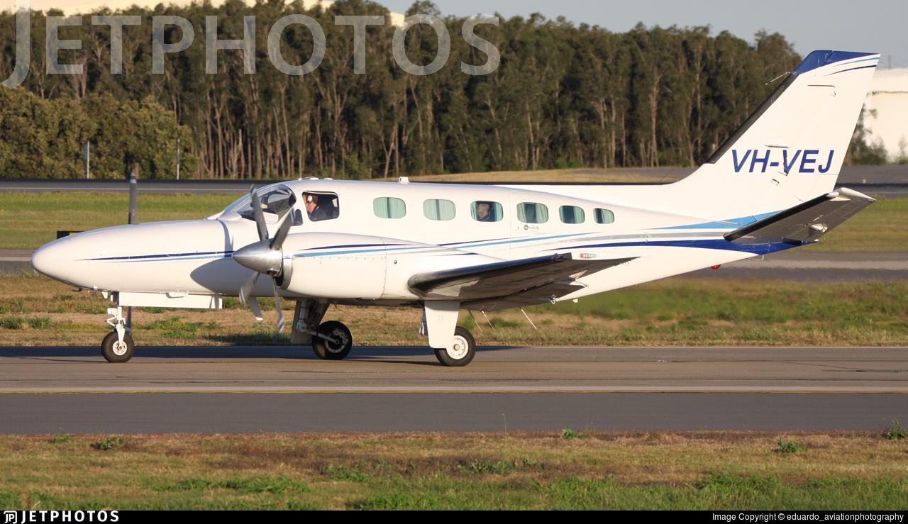 VH-VEJ - Cessna 441 Conquest II - Corporate Air