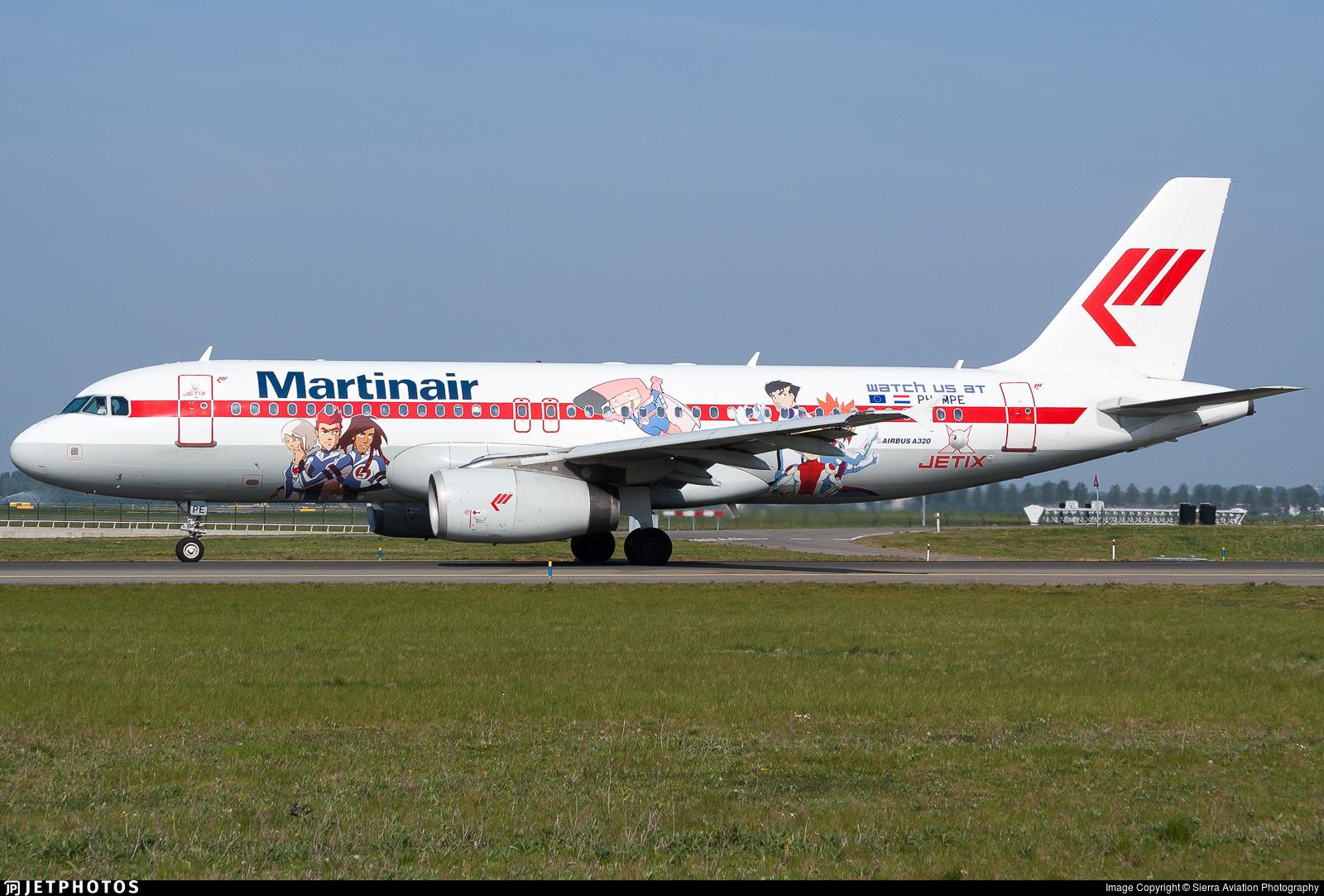 PH-MPE - Airbus A320-232 - Martinair