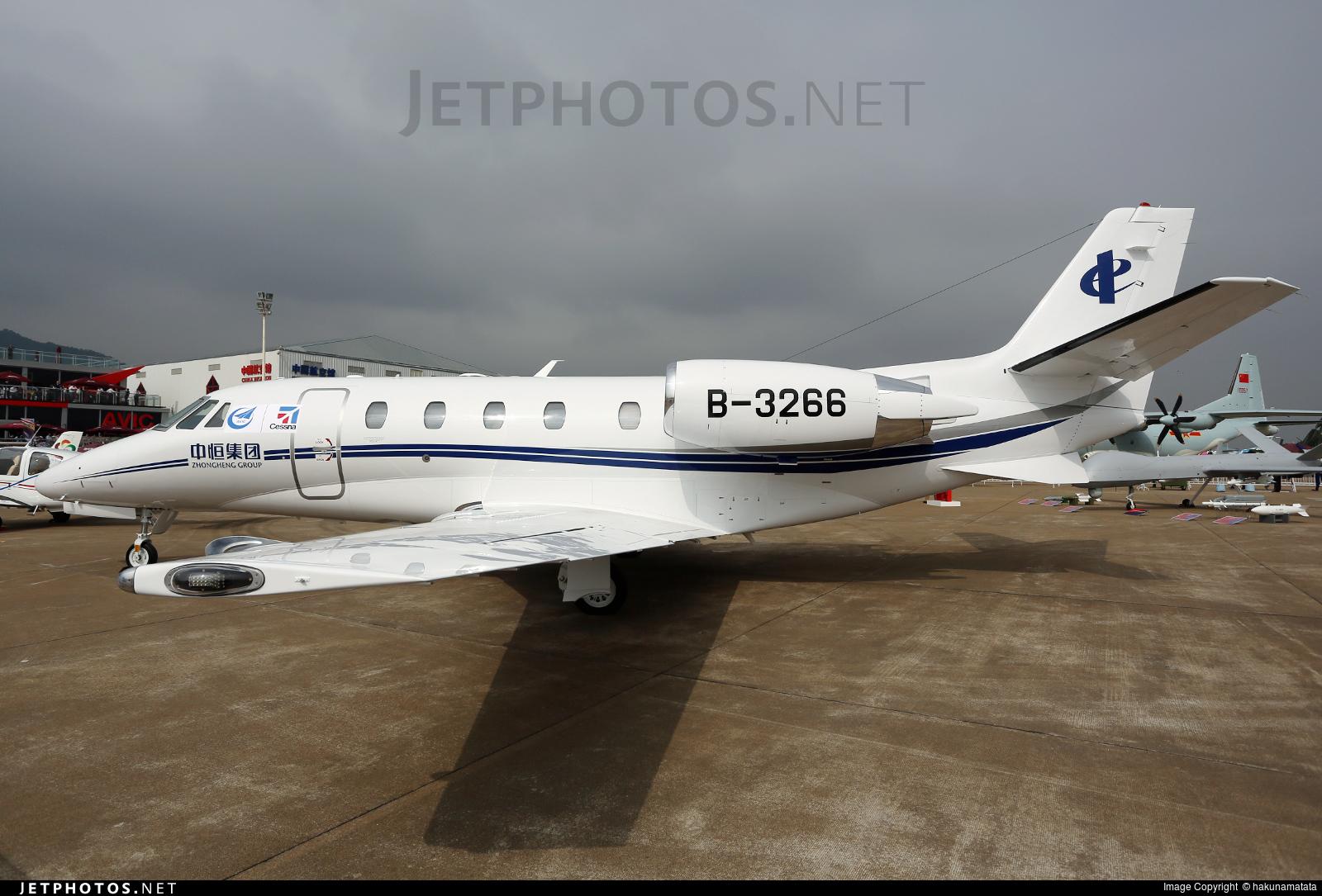 B-3266 - Cessna 560XL Citation XLS Plus - Private