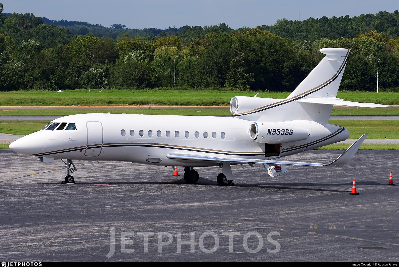 N933SG - Dassault Falcon 900EX - Private
