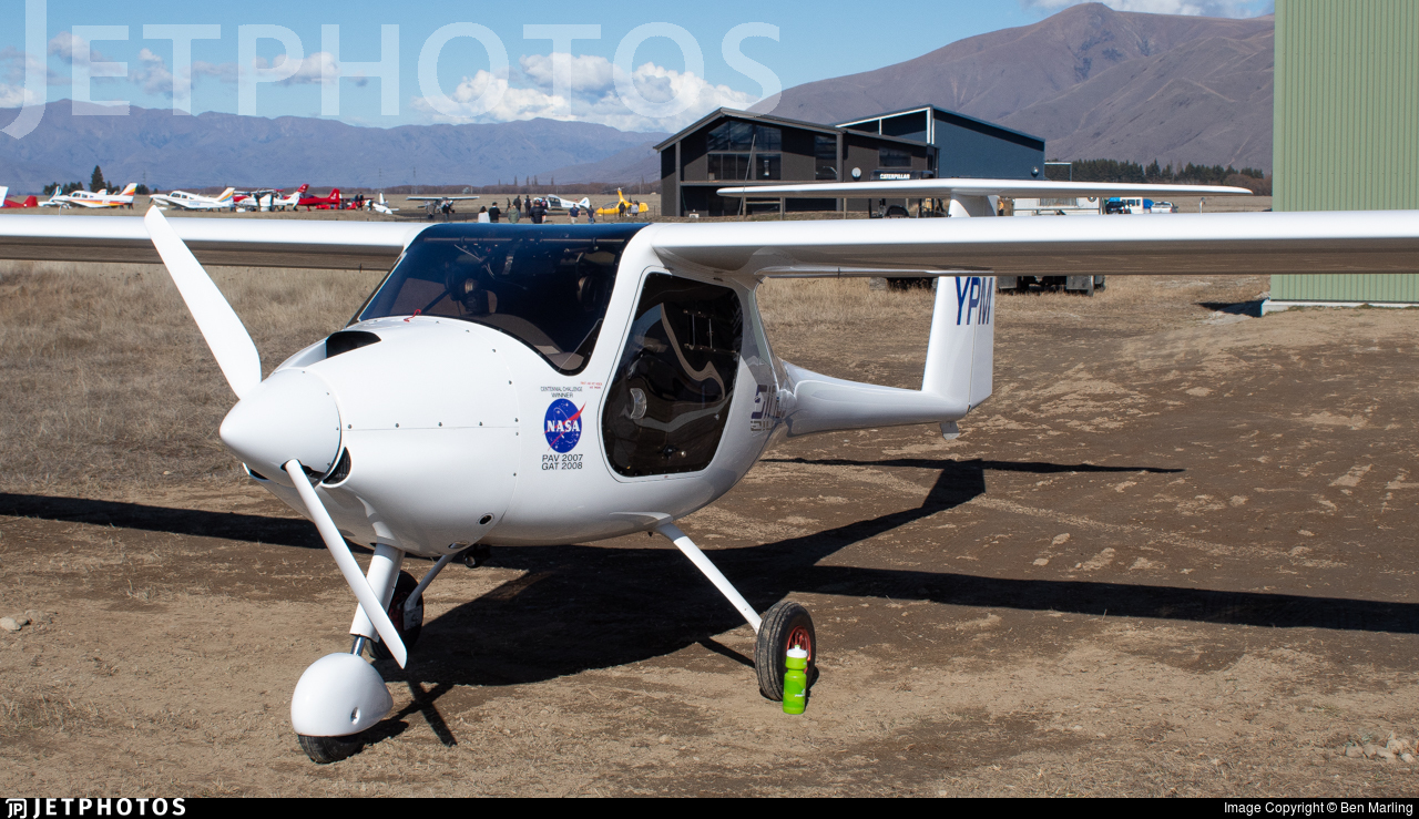 ZK-YPM - Pipistrel Sinus - Private