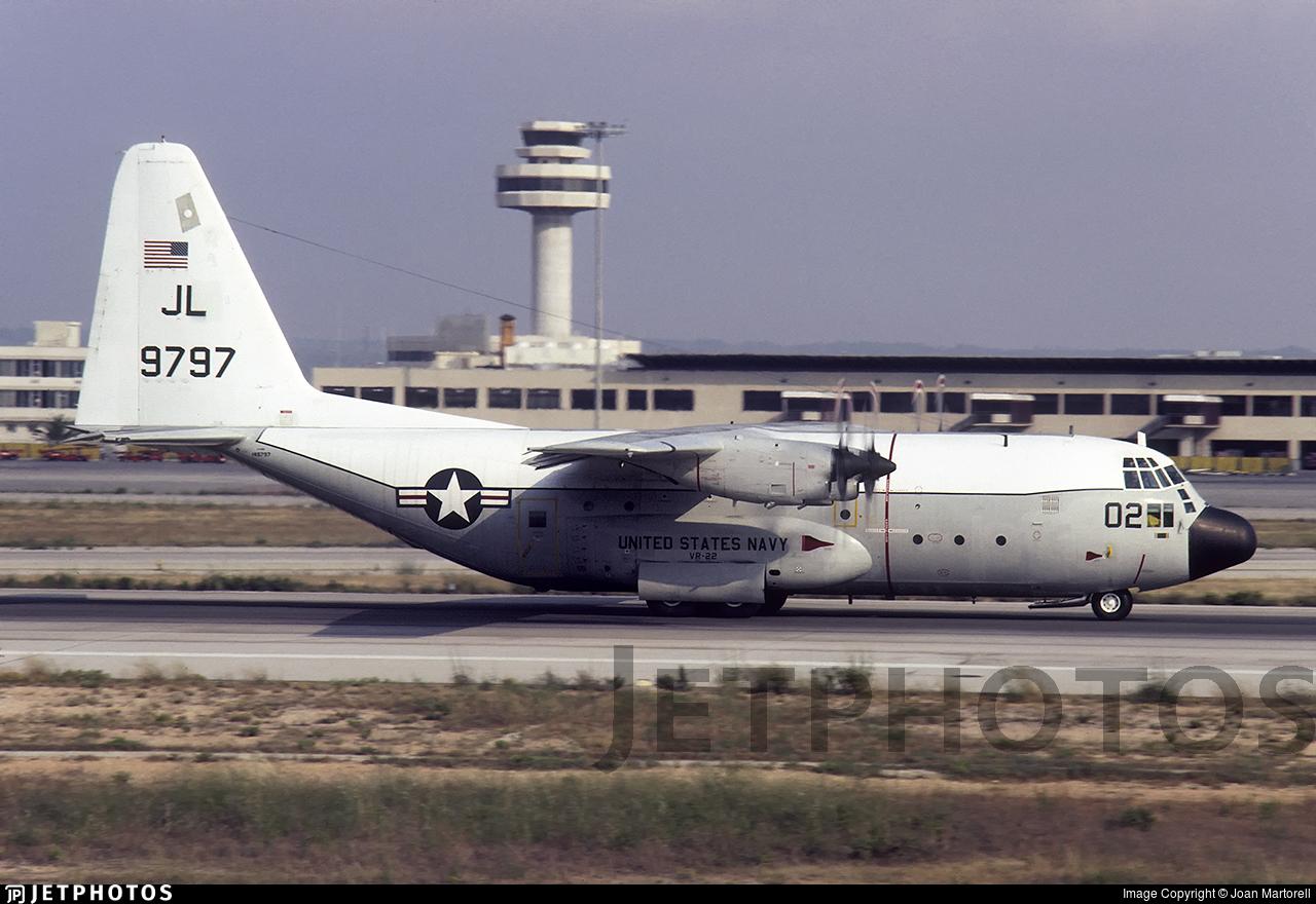 149797 - Lockheed C-130F Hercules - United States - US Navy (USN)