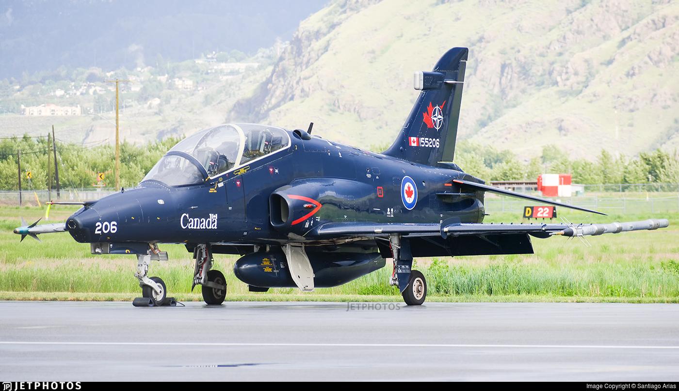 155206 - British Aerospace CT-155 Hawk - Canada - Royal Canadian Air Force (RCAF)