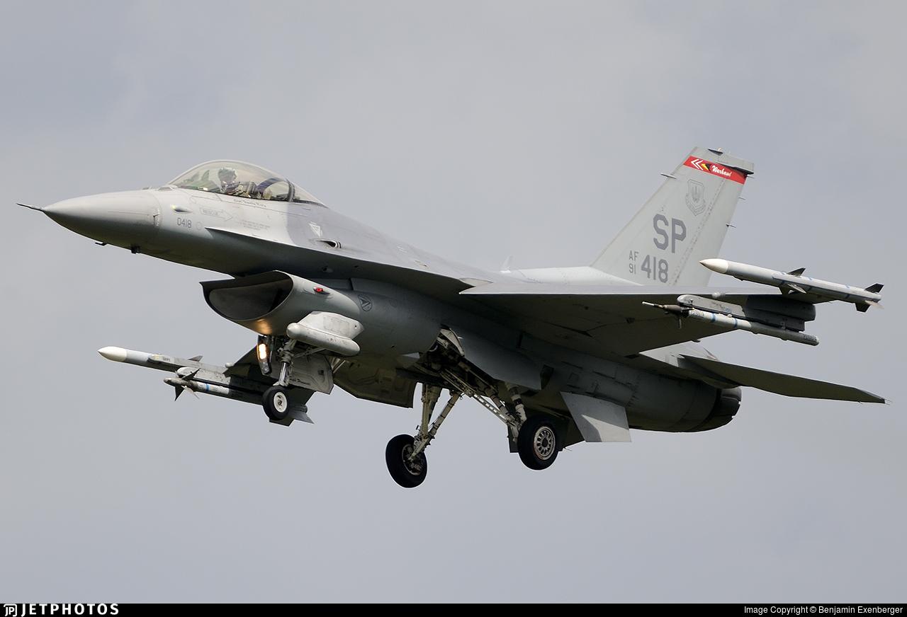91-0418 - Lockheed Martin F-16CJ Fighting Falcon - United States - US Air Force (USAF)
