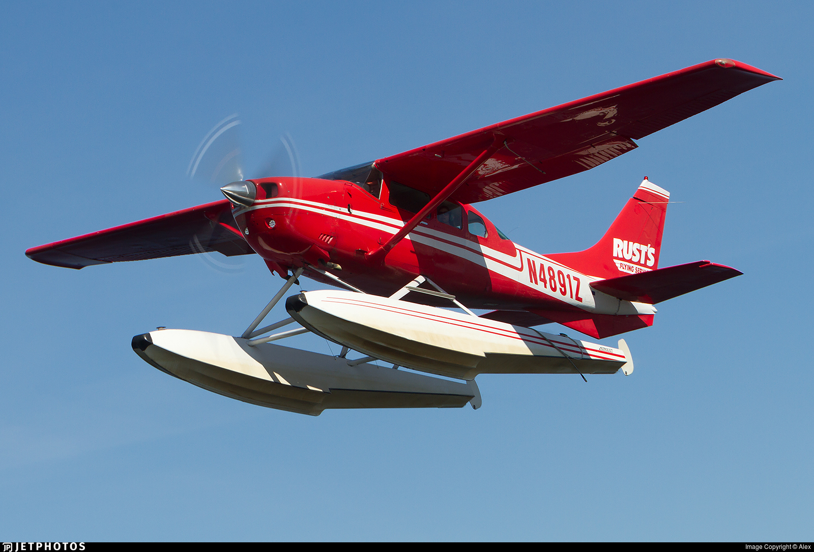 N4891Z - Cessna U206G Stationair - Rust's Flying Service