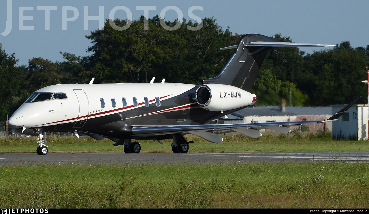 LX-GJM - Bombardier BD-100-1A10 Challenger 350 - Global Jet Luxembourg