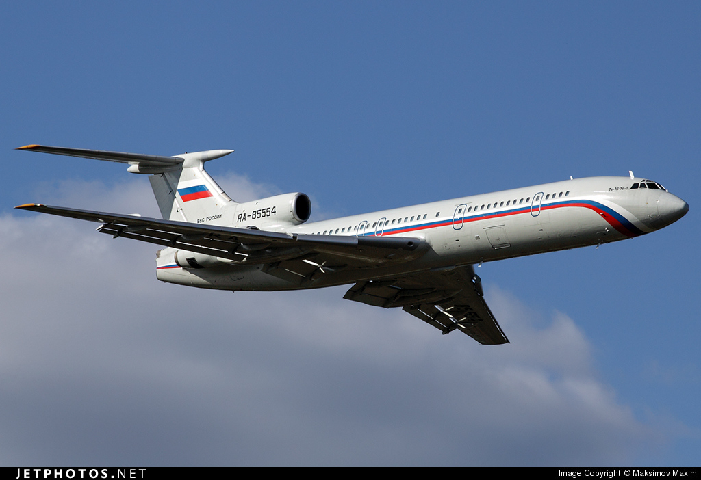 RA-85554 - Tupolev Tu-154B-2 - Russia - Air Force
