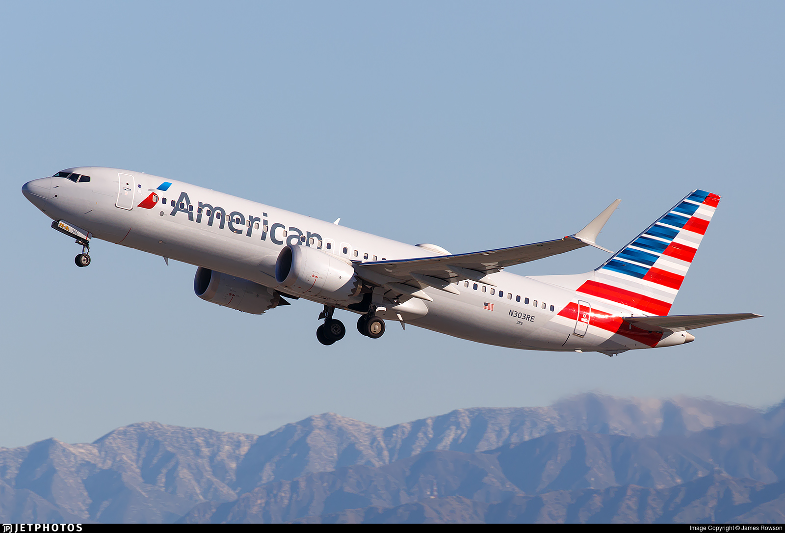 N303RE - Boeing 737-8 MAX - American Airlines