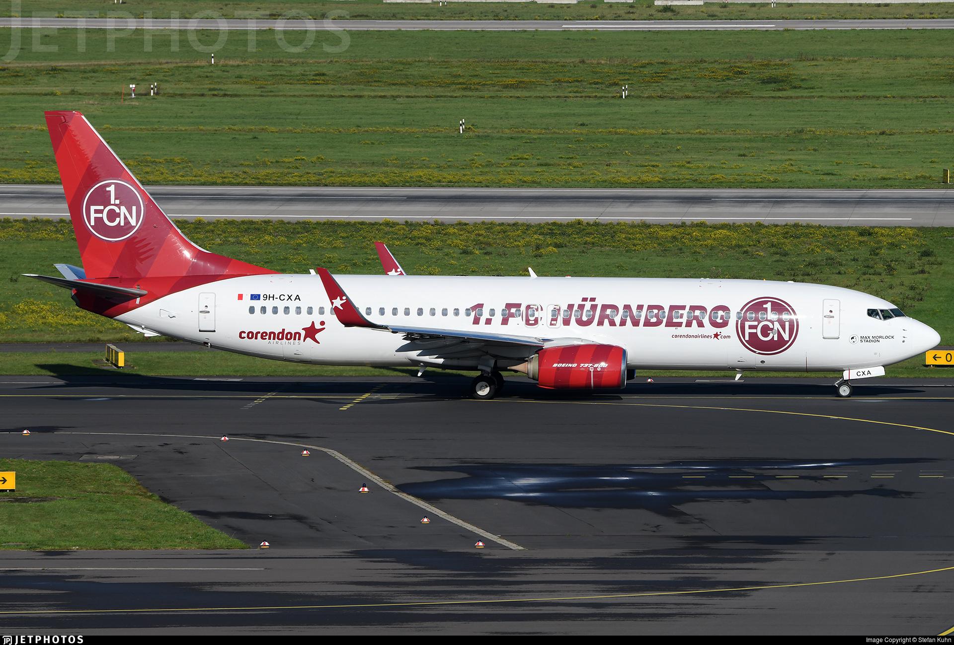 9H-CXA - Boeing 737-85R - Corendon Airlines Europe