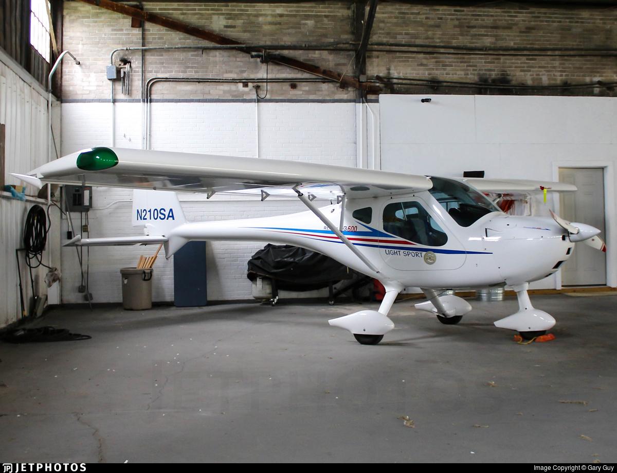 N210SA - Remos G-3/600 - Private