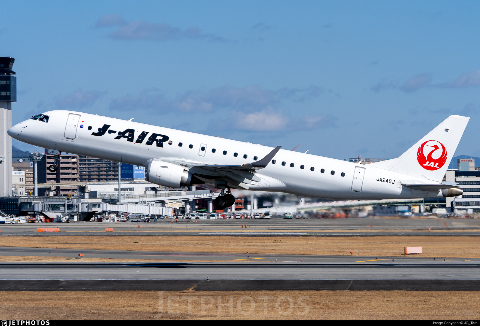 JA246J - Embraer 190-100STD - J-Air