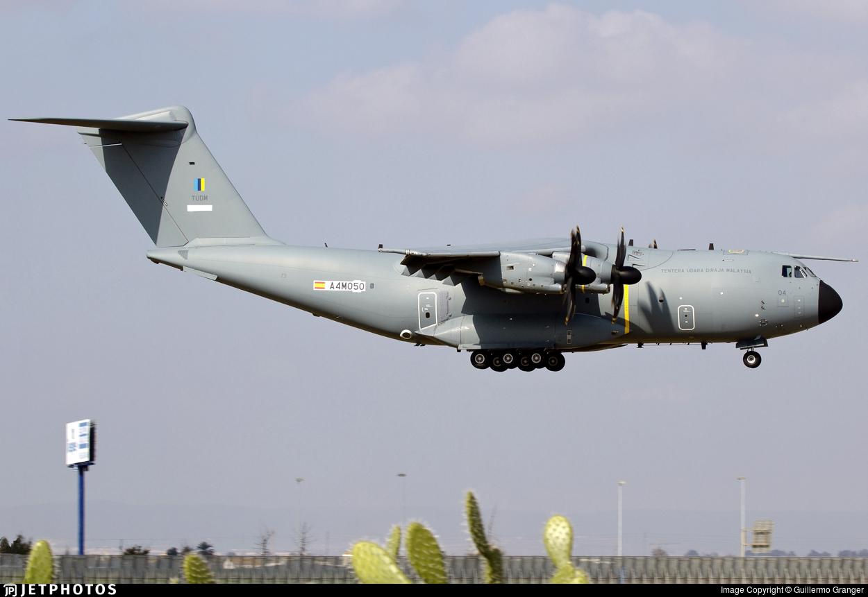 A4M050 - Airbus A400M - Malaysia - Air Force
