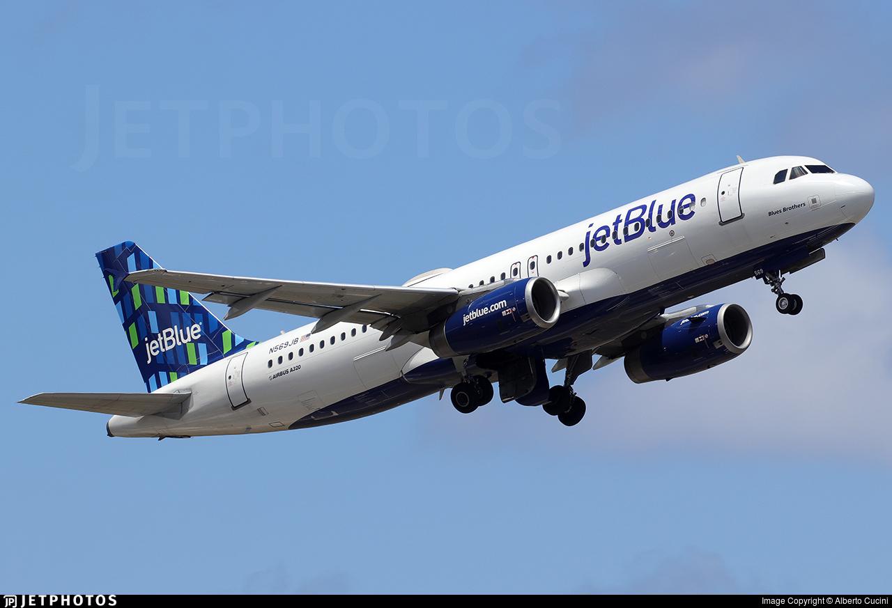 N569JB - Airbus A320-232 - jetBlue Airways