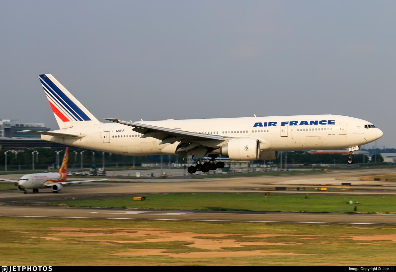 F-GSPR - Boeing 777-228(ER) - Air France