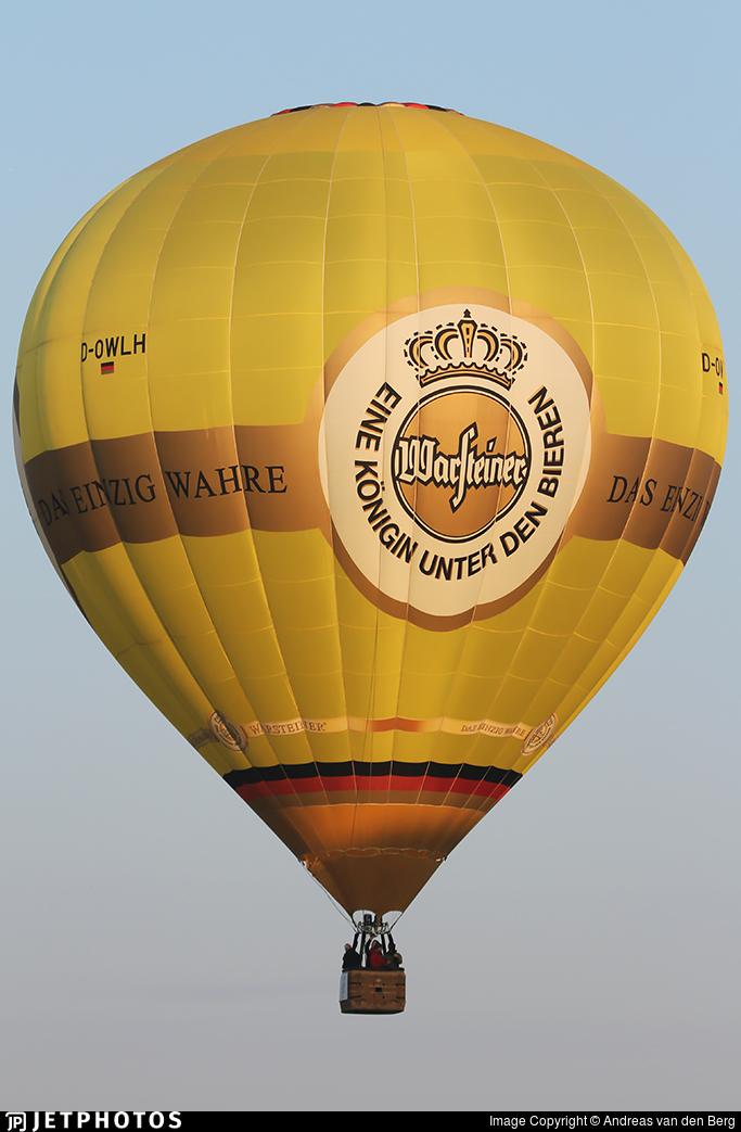 D-OWLH - Schroeder Fire Balloons G34/24 - Warsteiner Brauerei