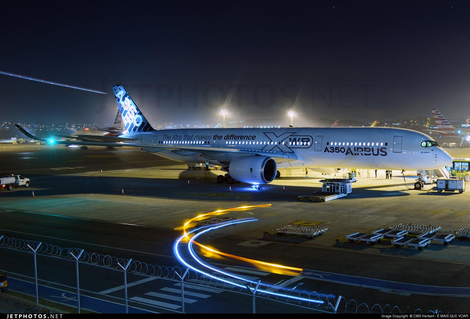 F-WWYB - Airbus A350-941 - Airbus Industrie