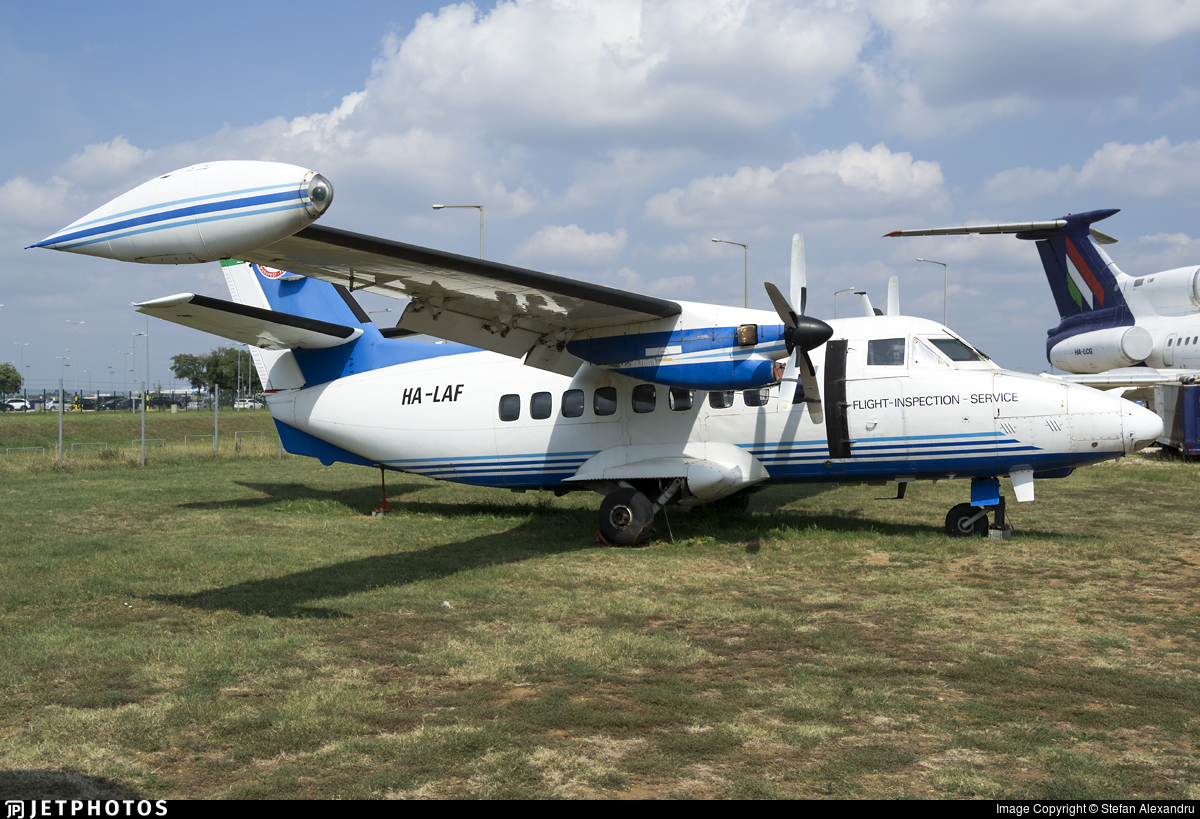 HA-LAF - Let L-410UVP-E9 Turbolet - Budapest Air Service