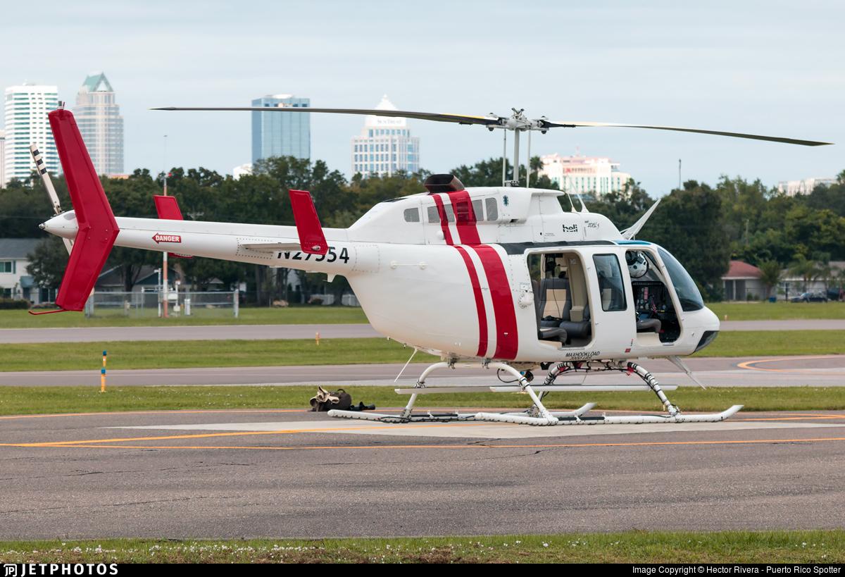 N27554 - Bell 206L-1 LongRanger - Private