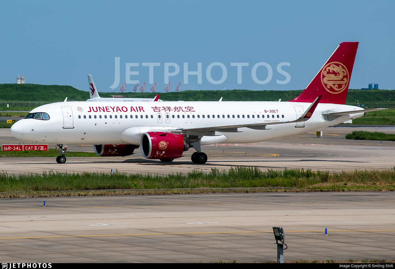 B-30CT - Airbus A320-271N - Juneyao Airlines