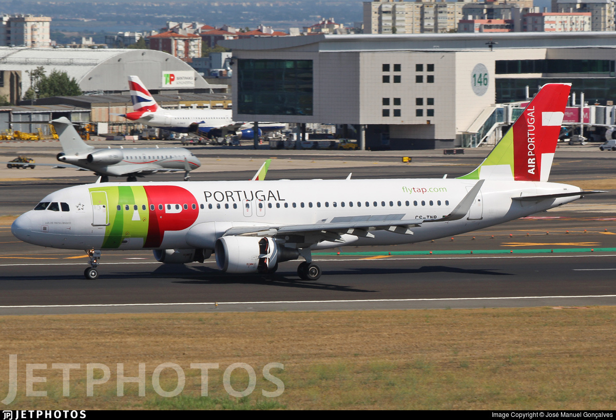 CS-TNR - Airbus A320-214 - TAP Air Portugal