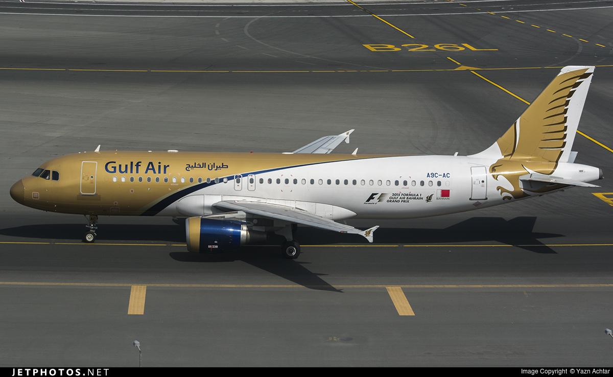 A9C-AC - Airbus A320-214 - Gulf Air