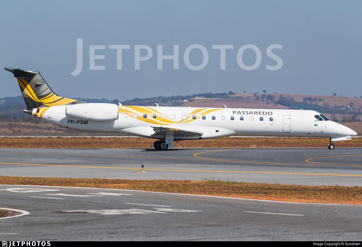PR-PSM - Embraer ERJ-145LR - Passaredo Transportes Aéreos